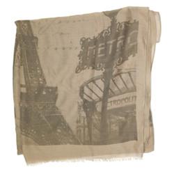 Paris Eiffel Tower Scarf Print