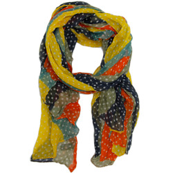 Colorful Star Crinkle Scarf
