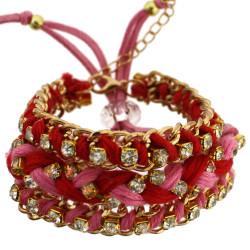 Jenny Bracelet Set In Red