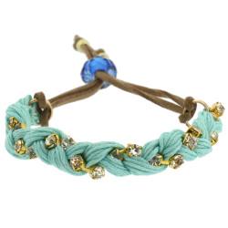 Jenny Braided Bracelet In Aqua