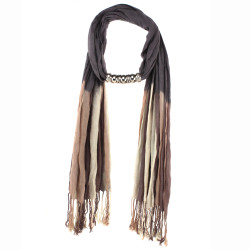Ombre Alexis Scarf In Slate