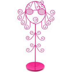 Cool Girl Jewelry Stand Organizer In Pink