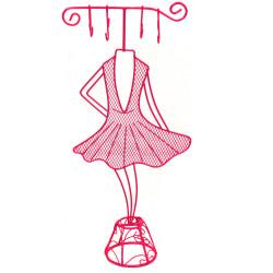 Ballerina Jewelry Stand Organizer