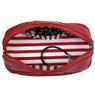 Bucasi Weekender in Red Stripe | Travel Jewelry Organizer | TS13335 | Top
