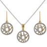 Dreamcatcher inspired necklace