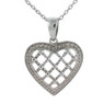 Sterling Silver Heart Necklace Pendant