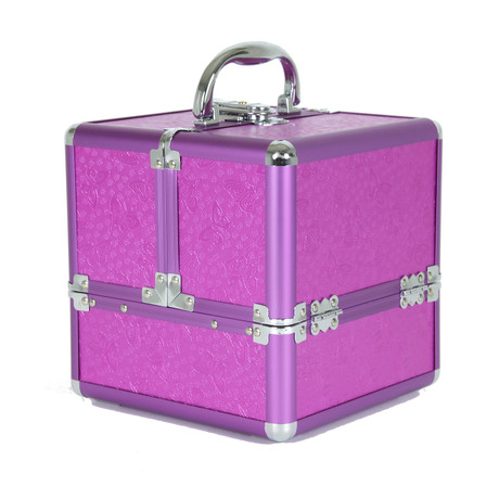 girls butterfly makeup train in purple | Bucasi CB15390PK | Main
