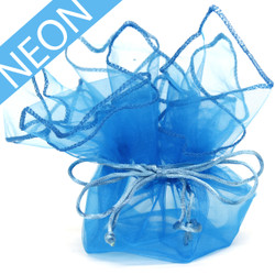 Electric Blue Gift Bags - Set of 30