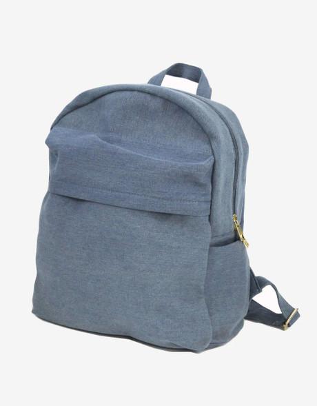 Blue Jean Backpack | Bucasi BP1 | Front