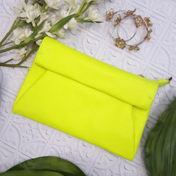 Neon Envelope Clutch By Bucasi | Catalog