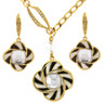 60s Mod style Necklace and Earring set