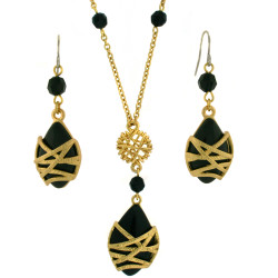 Strapped In Jewelry Set