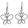 Stainless Steel Butterfly Earrings