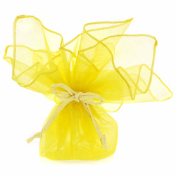 Yellow Gift Bags - Set of 30