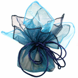 Aqua Gift Bags - Set of 30