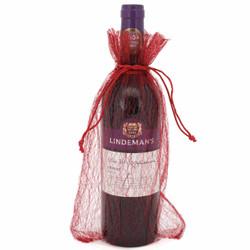 Red Wine Bags | Organza Gift Bags | Bucasi OBG140MBUR Main