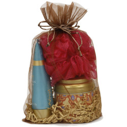 Brown Gift Bag | Espresso Party Favor Pouch | Large Bucasi OBG100LBRN Main