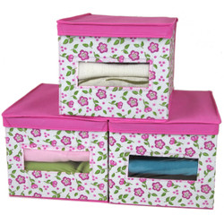 Floral Sweater Box Set | Window | Bucasi SCR433PK | Set of 3