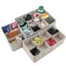 Adjustable Beige Drawer Organizer set of 3 | Bucasi SCR655 | Main