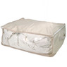 Claire Beige Polyester Under the Bed Linen Blanket and Coat Organizer Set by Bucasi | Bucasi SCR670 | Single 1
