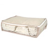 Claire Beige Polyester Under the Bed Linen Blanket and Coat Organizer Set by Bucasi | Bucasi SCR670 | Single 3
