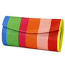 Rainbow Jewelry Travel Clutch and Jewelry Roll Up Set | TS13208-R | Envelope Clutch