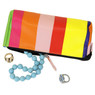 Rainbow Jewelry Travel Clutch and Jewelry Roll Up Set | TS13208-R | Purse