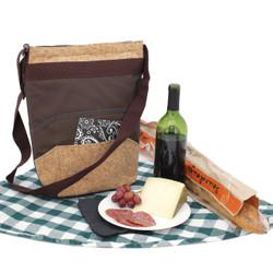 Wine Bag Tote | Wine Carrying Case | Single Cork Wine Storage Case | Bucasi Wine Picnic Bag | Wine Gifts by Bucasi | PB125 | Main