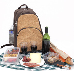 Wine Picnic Backpack | Wine Bottle Carrying Case | Concert Backpack | Picnic Backpack | Bucasi Wine Picnic Bag | Wine Gifts by Bucasi | PB100 | Main