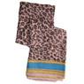 Purple cheetah print animal print scarf | Bucasi Purple Animal Print Scarf | Purple Venetian Scarf | Bucasi SF080TURQ | Print