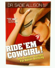 Ride 'Em Cowgirl Book by Dr. Sadie Allison