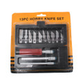 Hobby Knife Set with Blades 13/pkg