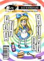 Visible Image Stamps – Alice in Wonderland 160x115mm
