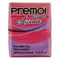 Premo! Sculpey Accents Polymer Clay - Magenta Pearl #5029