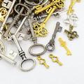 Tibetan Style Mixed Charms 50g - Keys