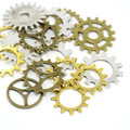 Tibetan Style Mixed Charms 50g - Gears