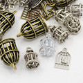 Tibetan Style Mixed Charms 50g - Bird Cages