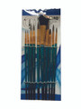 Artboard Watercolour Natural & Synthetic Hair Brush Set 10/pkg