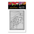 Stampendous Laurel Burch Clear Stamp Set – Friendship LBCR012