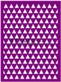 Stencil - Triangles Plain