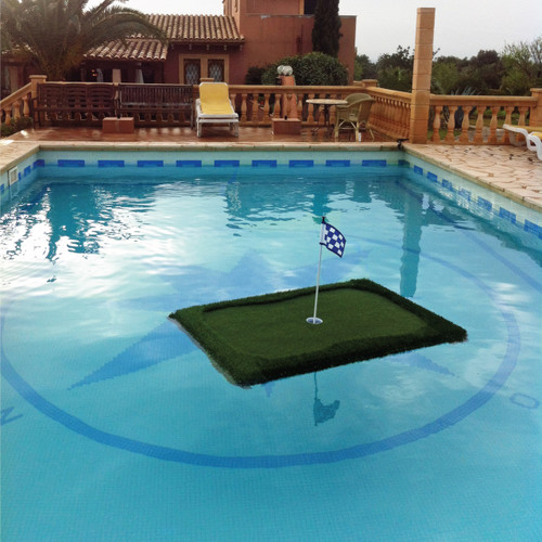 "3' x 4' Floating Golf Green - ""Junior"""