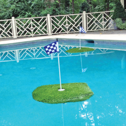 "3' x 3' Floating Golf Green - The ""Ace"" Floating Green"