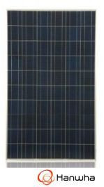 Hanwha SolarOne 245T Poly Module 245W - Black