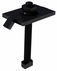 """IronRidge 29-70TB-105B A-B-I 2.0"""" Black DRK T-Bolt Mid Clamp Kit"""
