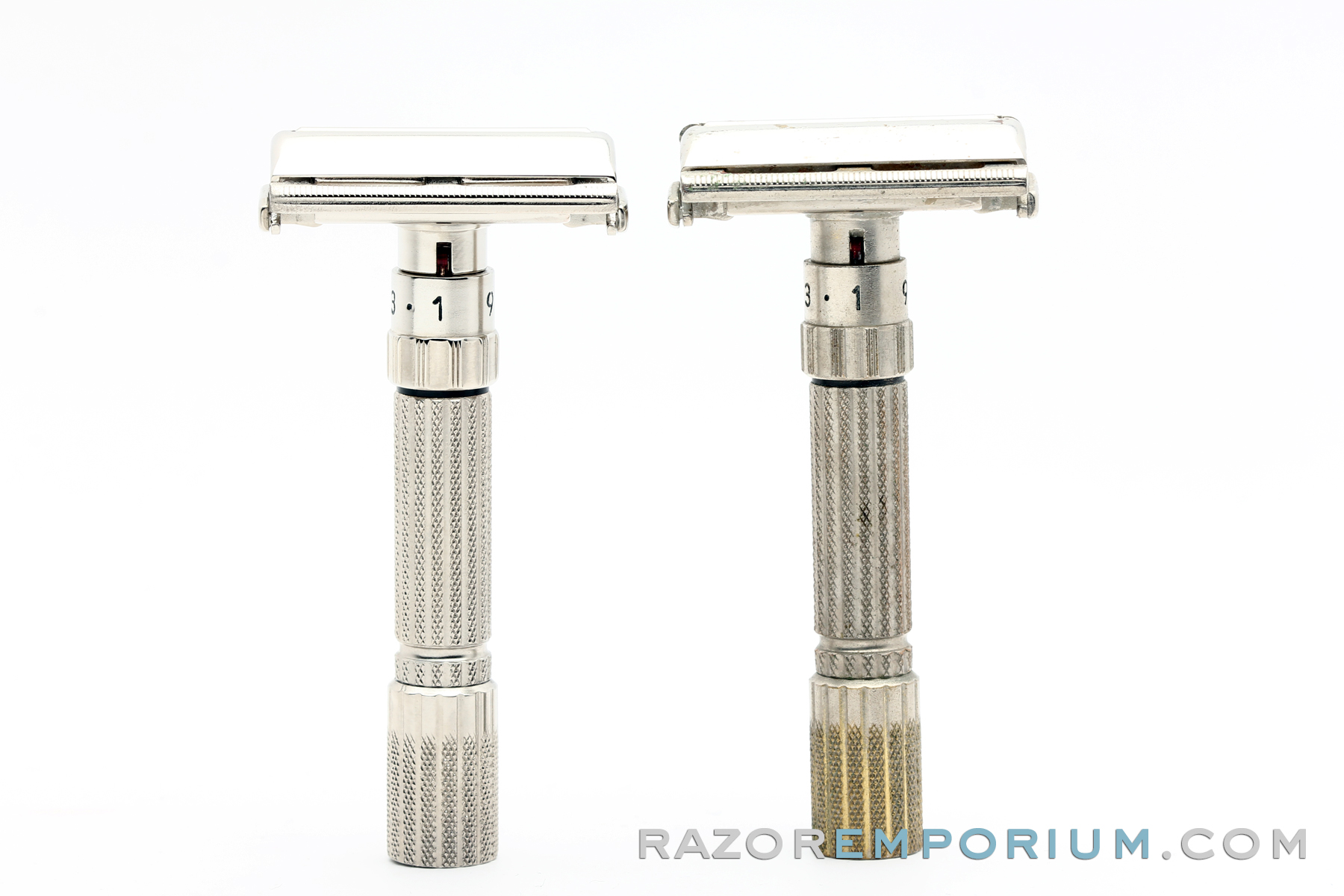 Gillette Factory Finish Nickel Revamp