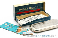 "1940's Rolls Razor ""Viscount"" Safety Razor - Excellent"