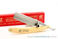 "13/16"" J.A. Henckels Friodur Hollow Ground Straight Razor 