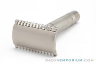 1930s Gillette NEW Long Comb Safety Razor Factory Nickel Revamp