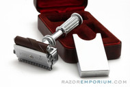 1930s Ronson Razor Double Edge Shaves and Sharpens Made in USA
