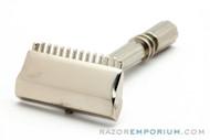 1930's Gem Micromatic OC SE Safety Razor | Factory Nickel Revamp
